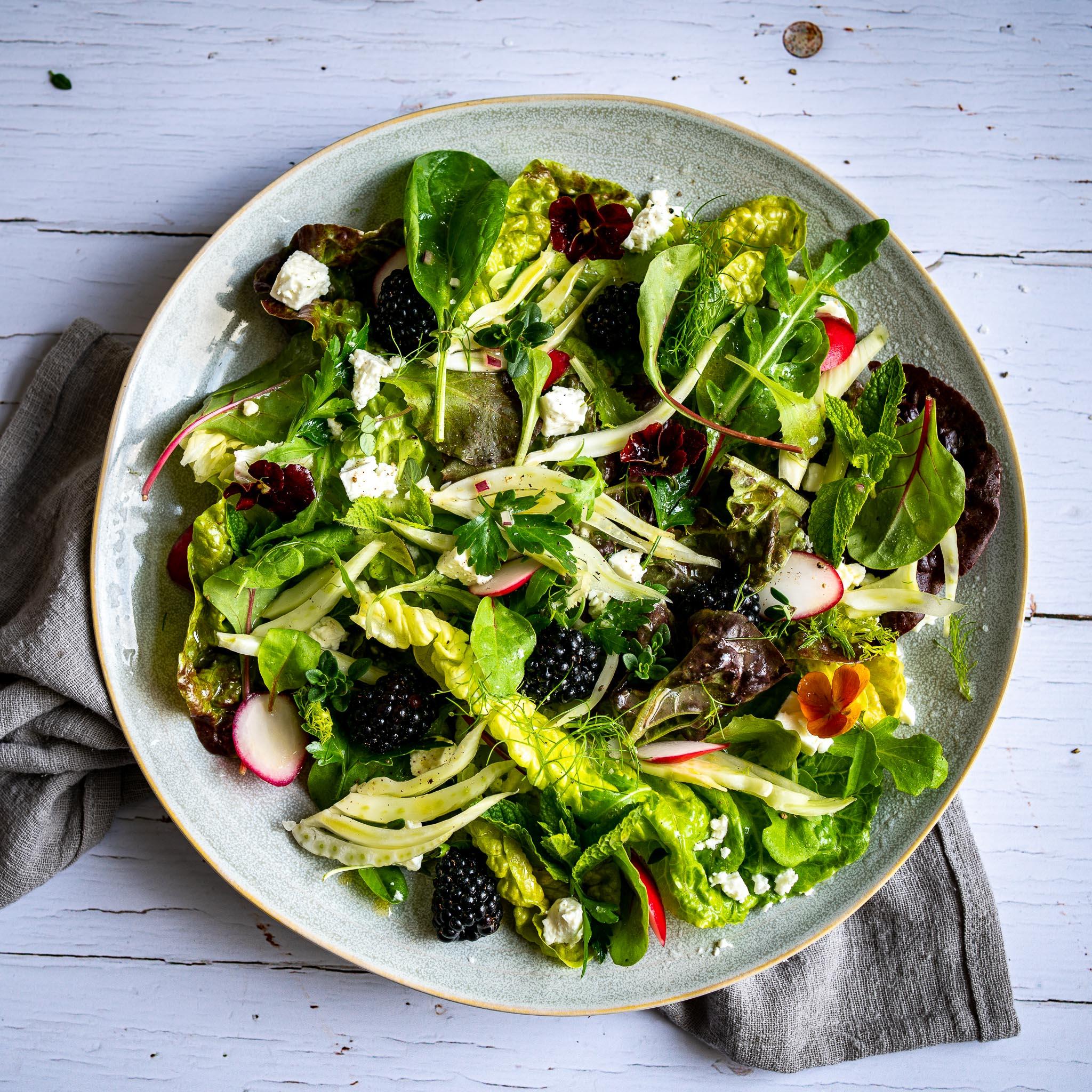 Food Fotografie Salat